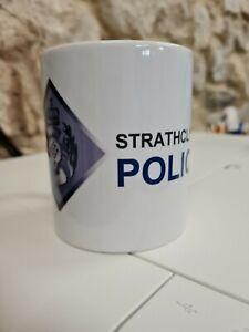 Strathclyde Police Constabulary Scotland Motif Logo Crest Cup / Mug Glasgow