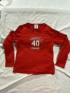 Mike Alstott Tampa Bay Buccaneers Vintage NFL Players For Her Size Small Red