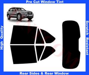 BMW X5 F15 5D 2013-... Pre-Cut Window Tint 5%-50% Rear Window & Rear Sides