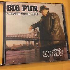 DJ ROZ Big Pun Larger Than Life The Punisher MIXTAPE MIX CD NYC Classic Hip Hop