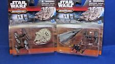 NEW LOT OF 2 STAR WARS  MICRO MACHINE DELUXE PACKS THE FORCE AWAKENS