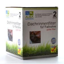 2 x Dachrinnenschutz Laubschutz Dachrinne  Regenrohr Fallrohrschutz 27238