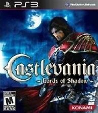 PLAYSTATION 3 PS3 GAME CASTLEVANIA LORDS OF SHADOW NEW