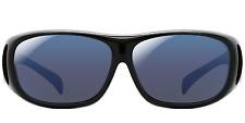EnChroma Receptor FIT OVER Outdoor Glasses - Color Blind Glasses (Black)