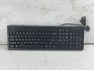 HP SK-2086 Wired Mechanical Keyboard Black QWERTY New Unused