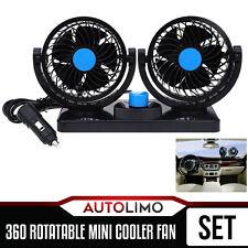 12V Dash Mount Air Conditioner Fan Rotatable Mini cooler 360 Degree Car Jeep SUV