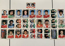 Panini World Cup Mexico 1986 ~~29 Stickers— Good Condition.