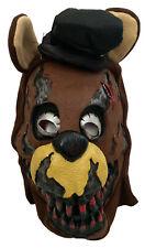Five Nights at Freddy's Nightmare Fazbear Adult Horror Costume Halloween Mask