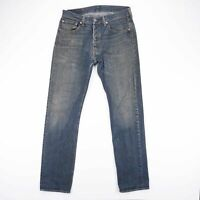 Vintage LEVI'S 501 Regular Straight Fit Men's Blue Jeans W31 L34