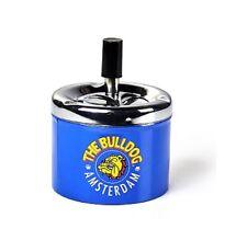 The Bulldog Drehaschenbecher Bulldog blau Lizenzware 360521