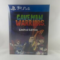 Caveman Warriors Limited Edition PS4 Import + Soundtrack + Art Book Asia English