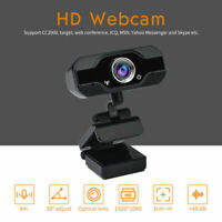 PVR006 1080P HD USB Webcam Camera Laptop Autofocus Video Microphone Calling A++