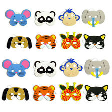10x Foam Animal Masks Pinata Toy Loot Party Bag Fillers Wedding Kids Birthday