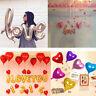 5PCS Love Heart Foil Helium Balloons Wedding Party Birthday Decoration Colors