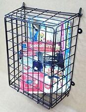 Steel Mesh Black Letter Post Catcher Door Box Cage Basket Holder Guard Letterbox