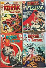 KORAK SON OF TARZAN#46-58 FN-VF LOT 1975 (4 BOOKS)  DC BRONZE AGE COMICS