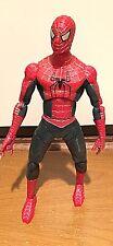 "Spiderman 12"" inch Articulated Action Figure Spider-Man Movie Marvel 2004"