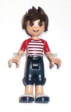 Lego Friends MiniFigure Boy NOAH from set 41097 Heartlake Hot Air Balloon, New