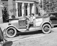 Photograph of a 1931 Chevy Parked by Shulman/'s Market Year 1941 8x10
