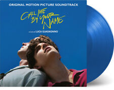 New Call Me by Your Name Soundtrack 2x LP VINYL Limited Edition Blue Color Rare
