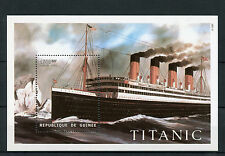 Guinea Republic Guinee 1998 MNH Titanic 1v S/S Ships Boats