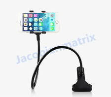 Gooseneck Lazy Mount Cellphone Mount 360º Rotating for 1.3- 5 inch width phones