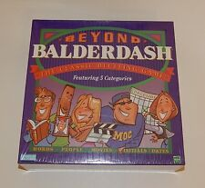 Beyond Balderdash Board Game Parker Brothers 1997 Bluffing Party Game SEALED R91