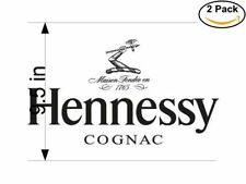 hennessy cognac 2 Stickers 9.5 Inches Sticker Decal
