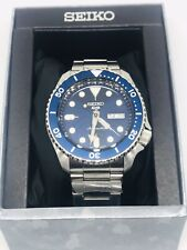 Seiko SRPD51K1 5 Sports 24 Jewel Movement 100M See Through Case Back New Boxed
