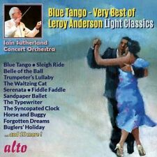 CD VERY BEST OF LEROY ANDERSON BLUE TANGO SLEIGH RIDE TYPEWRITER BUGLERS HOLIDAY