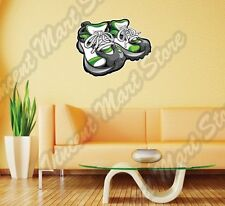 """Skateboard Shoes Sneakers Extreme Sport Wall Sticker Interior Decor 25""""X20"""""""