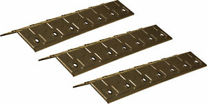 3 x Stainless steel heat plates / flavouriser bars for Blooma BBQ grill B&Q