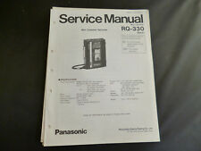 Original Service Manual Panasonic RQ-330
