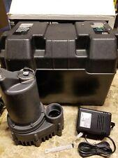 Ridgid Battery Back Up Pump System Model R12v