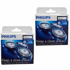PHILIPS Genuine HQ8 Dual Precision Cutter & Foil Shaver Head Pack of 6