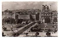 75 - cpsm - PARIS - La Butte Montmartre vue du Palais de Louvre (H5577)