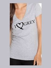 50 Shades of Grey - Fifty Shades-Sml-Lg & 2XL Tee Shirts- Darker Gray T-Shirt