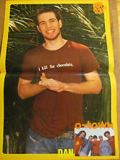 Dan Miller, O-Town, Luis Fonsi, Double Two Page Centerfold Poster