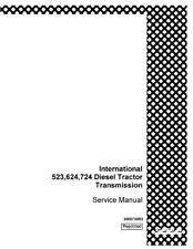 CASE IH 523 624 724 TRANSMISSION - IH SERVICE MANUAL
