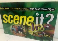 Scene It Jr. DVD Board Game Mattel 2004 edition New & Sealed TRIVIA GAME GEN Z