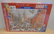 Comic puzzle Sealed 1000 pieces Frans Le Roux Ravensburger 2017 Amsterdam
