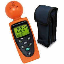 3-Axis EMF RF Radiation ElectroSmog Power Digital Field Strength Meter Tester