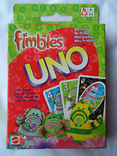 FIMBLES My First UNO card game! Easy to learn! FUN! Free UK Postage! Family Game