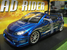 PEUGEOT 206 CC TRIBAL COUPE III TUNING RIDER 1/18 Norev 184737 voiture miniature