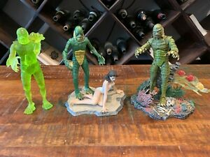 Universal Studios Creature From The Black Lagoon Lot Sideshow Diamond Select