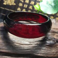 Baltic Sea Amber Stone Cream Red Bracelet Widened Plus Thick 60MM