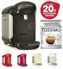 TASSIMO Vivy 2 + 20 EUR Gutschein* + TDisc Cappuccino Kapseln Kaffee Maschine