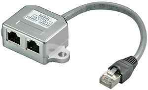 Cat.5 Rnis / Ethernet T Adaptateur 10/100 Baset 0,1m