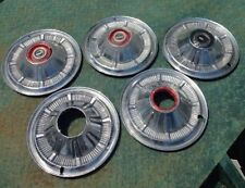 Original Set Early Ford Bronco Hubcaps SET OF 5 From 1966 to 1977