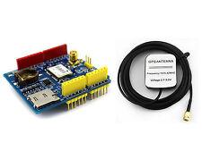 New-tech GPS Shield Ublox/u-blox CT-1612UB Micro SD 5v for Arduino With Antenna
